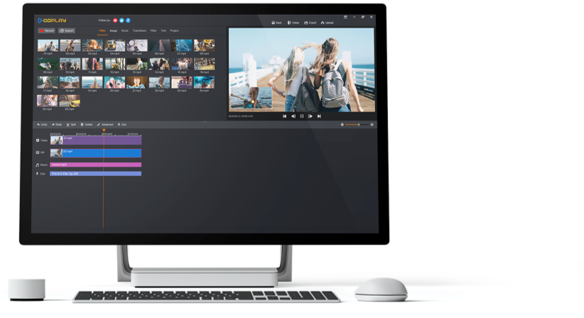 GoPlay Video Editor Screenshot
