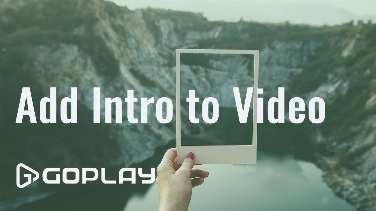 How to Add Intro Effect to Video