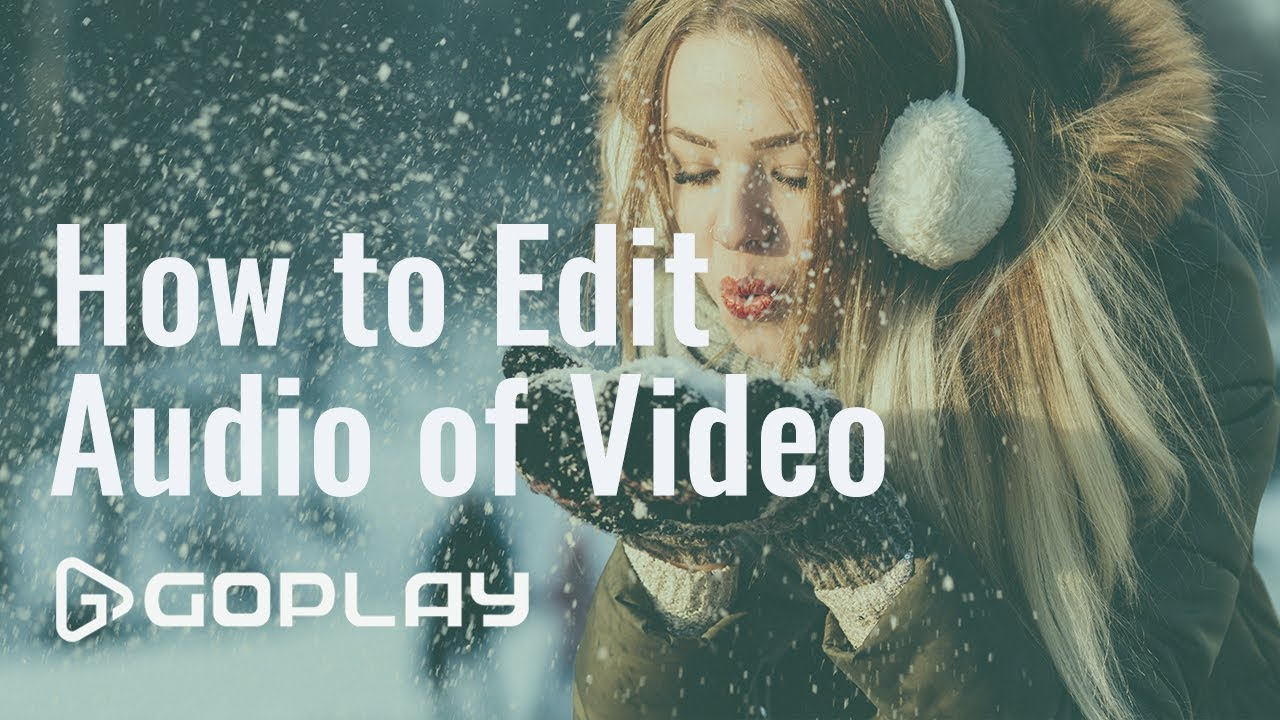 How to edit audio/music of video