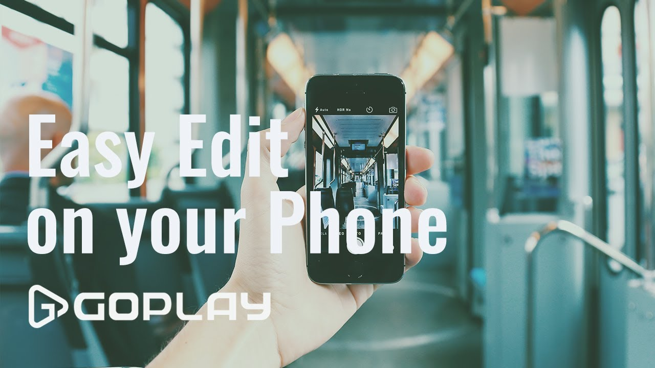 Edit Videos on Your iPhone or Android
