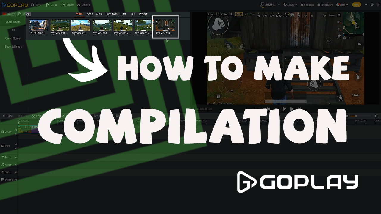How to Make Game Compilation l GOPLAY BEGINNER GUIDE